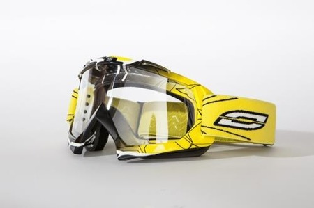 GOGLE OZONE MUD MX YELLOW GRAPHICS OS
