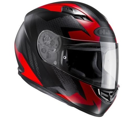 KASK HJC CS-15 TREAGUE BLACK/RED