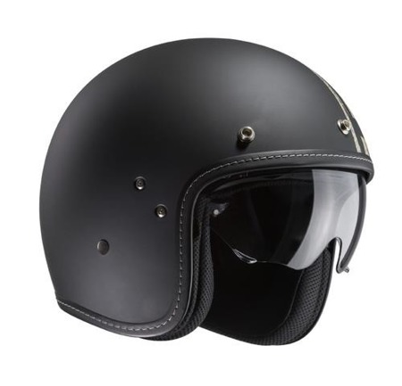 KASK HJC FG-70S BURNOUT BLACK/GREY