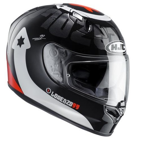 KASK HJC FG-ST LORENZO DEVIL BLACK/WHITE/RED
