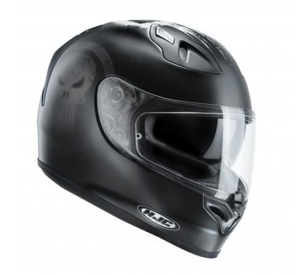 KASK HJC FG-ST PUNISHER BLACK/WHITE