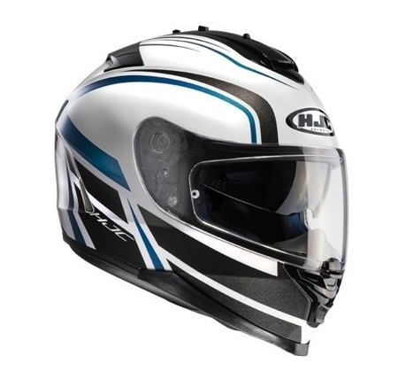 KASK HJC IS-17 CYNAPSE BLACK/WHITE/BLUE