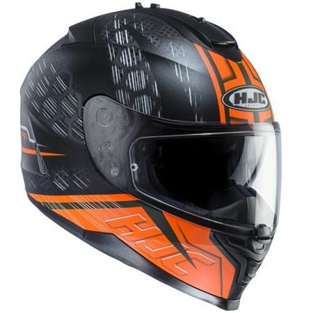 KASK HJC IS-17 ENVER BLACK/ORANGE