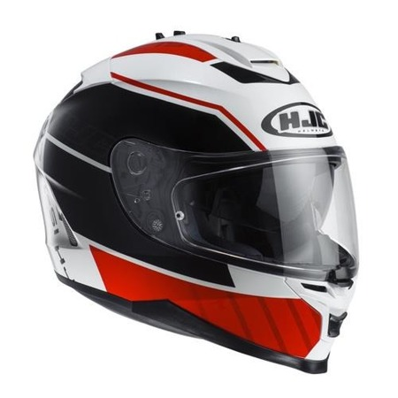 KASK HJC IS-17 TRIDENTS BLACK/WHITE/RED