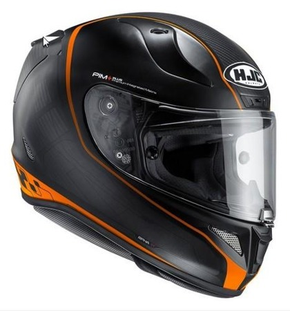 KASK HJC R-PHA-11 RIBERTE BLACK/ORANGE
