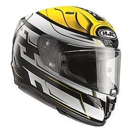 KASK HJC R-PHA-11 SKYRYM BLACK/WHITE/YELLOW