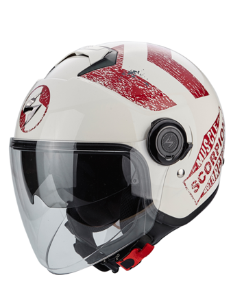 KASK OTWARTY SCORPION EXO-CITY HERITAGE BEIGE-RED