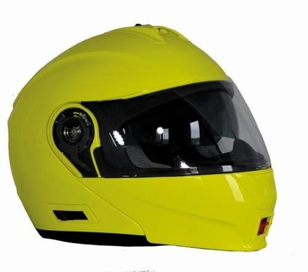 KASK OZONE FLIP UP FP-01 FLUO YELLOW
